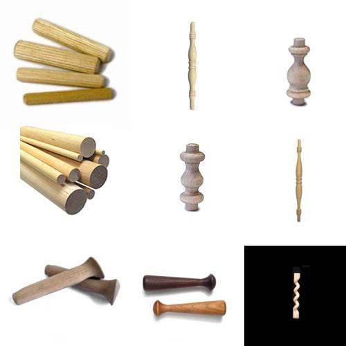 Dowels & Furniture parts